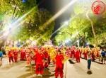 """Cho thuê múa Lân Sư Rồng tại Lễ Hội Văn Hóa Đường Phố """"Hà Nội Điểm Đến Xanh"""""""